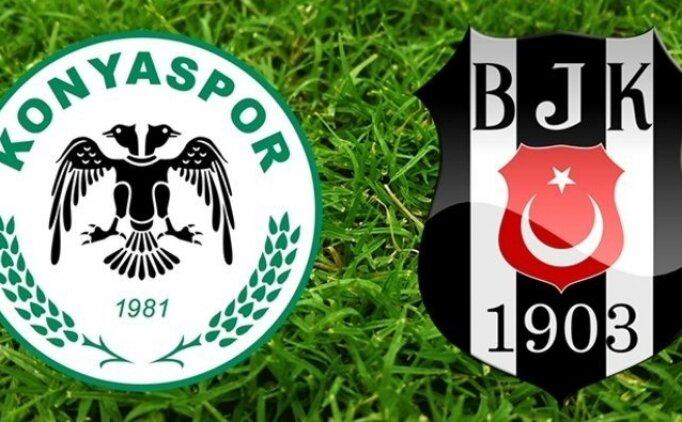 Konyaspor Beşiktaş maçı özeti, Konyaspor Beşiktaş maçı golleri