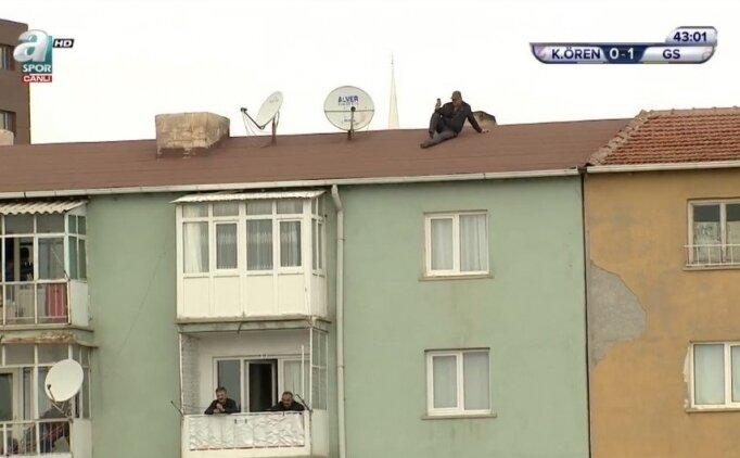 Keçiörengücü - Galatasaray maçında ilginç anlar