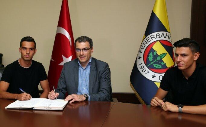 Berke Özer ve Barış Alıcı, Fenerbahçe'ye transfer oldu