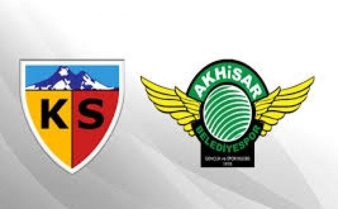 Kayserispor Akhisarspor maçı canlı hangi kanalda saat kaçta? Kayserispor Akhisarspor yayını