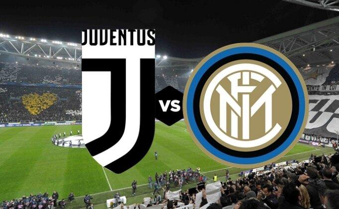 Juventus Inter maçı canlı hangi kanalda saat kaçta?
