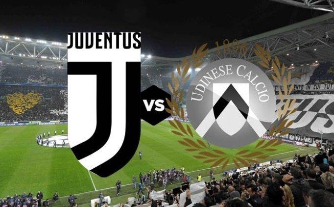 Juventus Udinese maçı canlı hangi kanalda saat kaçta?