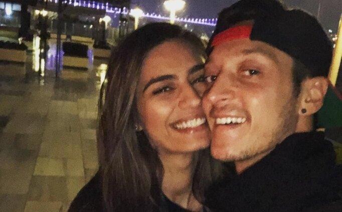 Amine Gülşe ile evlilik kararı Fenerbahçe'ye yaradı! Mesut Özil...