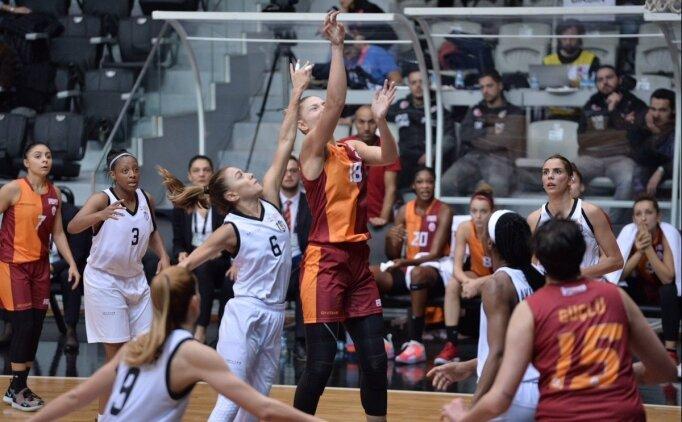 Kadın basketbol derbisinde gülen Beşiktaş oldu