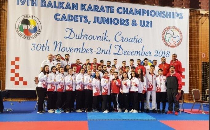 Karate Milli Takım'ından 26 madalya