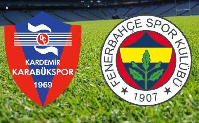 Karabükspor Fenerbahçe maçı canlı hangi kanalda saat kaçta? Fenerbahçe'nin Karabükspor muhtemel 11'i
