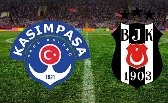 Kasımpaşa Beşiktaş maçının golleri ÖZET İZLE