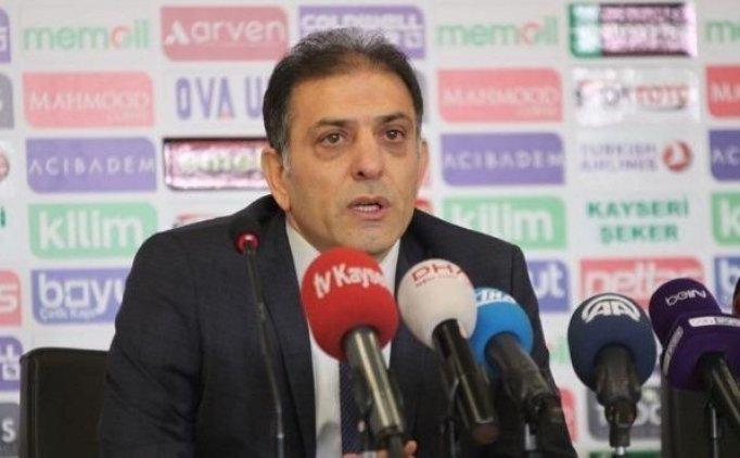 Kayserispor'lu Ertürk: ''Tekrar seri yakalamamız lazım''