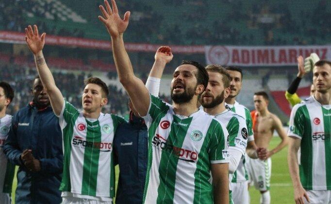 Konyaspor'dan Fenerbahçe maçına anlamlı hareket