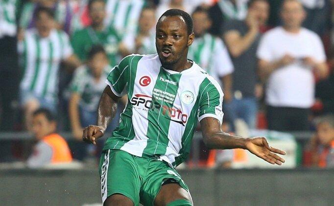 Konyasporlu Traore: 'Tek düşüncem takımıma katkı sağlamak'