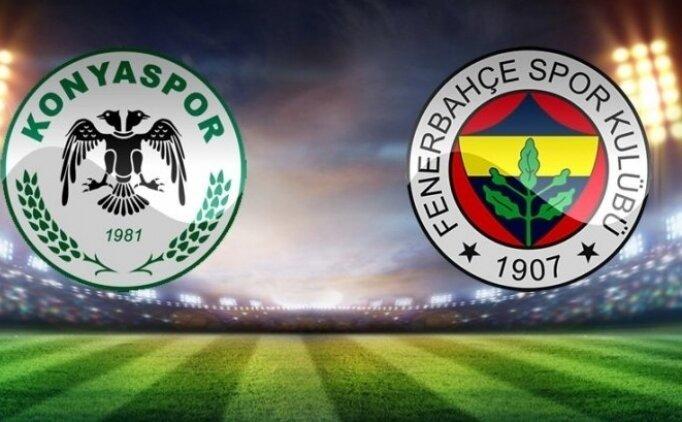 Konyaspor Fenerbahçe maçı canlı hangi kanalda saat kaçta?