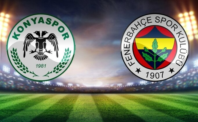 Konyaspor Fenerbahçe maçı hangi gün, saat kaçta, hangi kanalda?