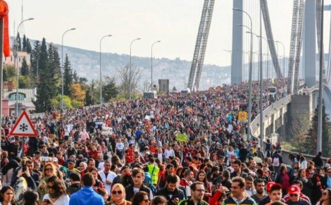 İstanbul koşu maratonu başladı!