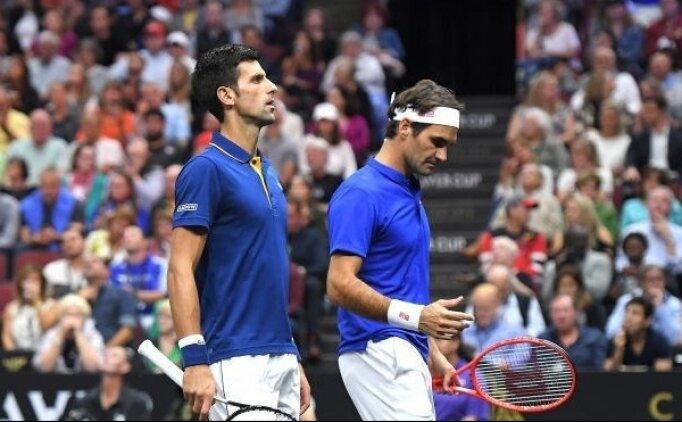 Tenisin kralları ilk maçını kaybetti!
