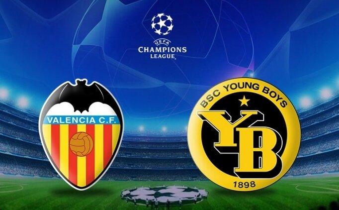 Valencia Young Boys maçı canlı hangi kanalda saat kaçta?