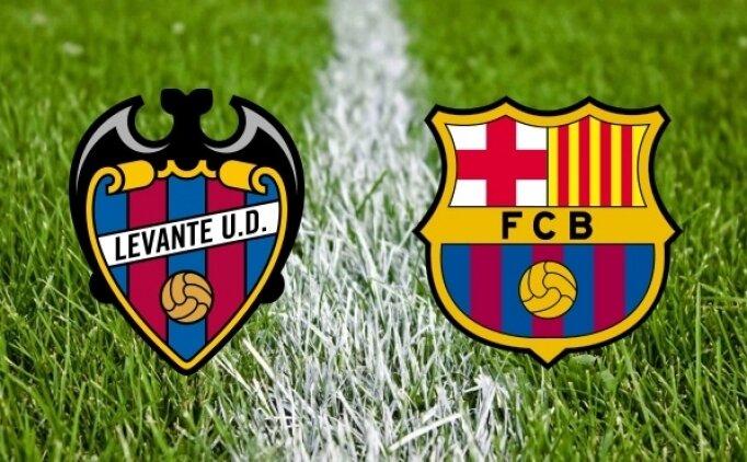 Levante Barcelona maçı canlı hangi kanalda saat kaçta?