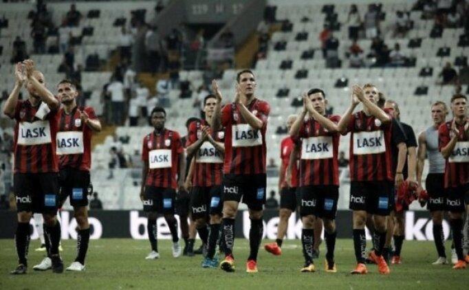 Beşiktaş'ın rakibi LASK Linz, son dakikada güldü!