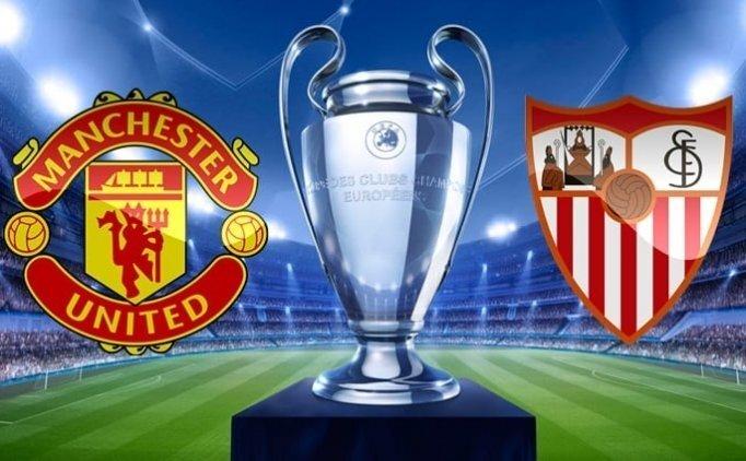 Manchester United Sevilla maçı canlı hangi kanalda saat kaçta?
