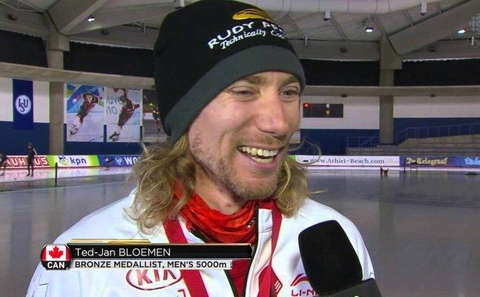 Kanadalı Ted-Jan'dan olimpiyat rekoru!