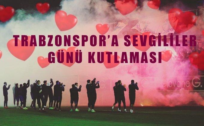 Trabzonspor'dan sevgililer günü sürprizi