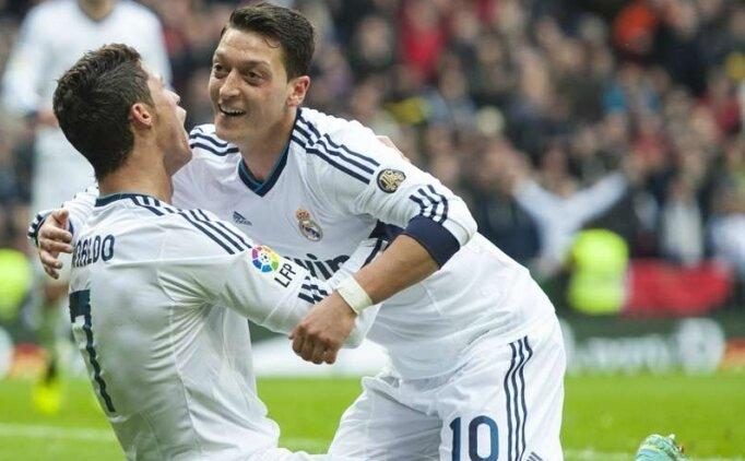Cristiano Ronaldo'nun Mesut Özil öfkesi!