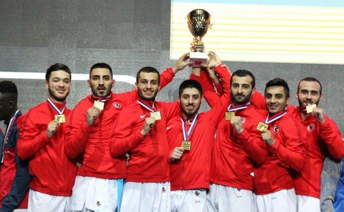 Türkiye Kumite Milli Takımı Avrupa Şampiyonu oldu!