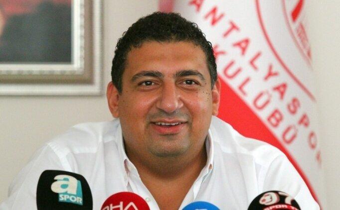 Antalyaspor Başkanı Öztürk'den Milan müjdesi!