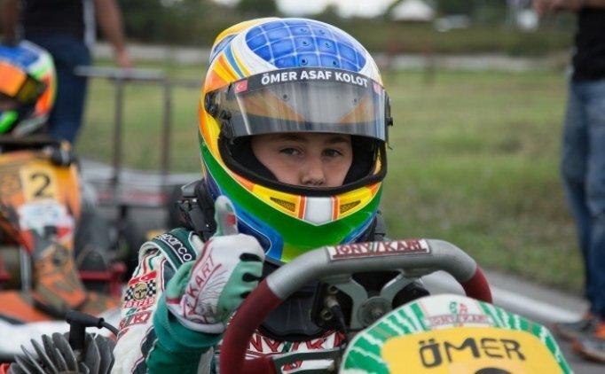 Ömer Asaf Belçika'da 6. oldu