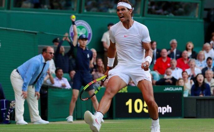 Nadal Wimbledon'da yarı finalde