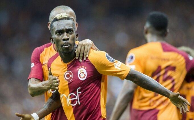 Galatasaraylı Onyekuru Başkan Weah'a karşı oynadı