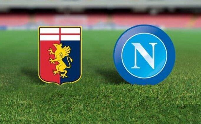 Genoa Napoli maçı canlı hangi kanalda saat kaçta?