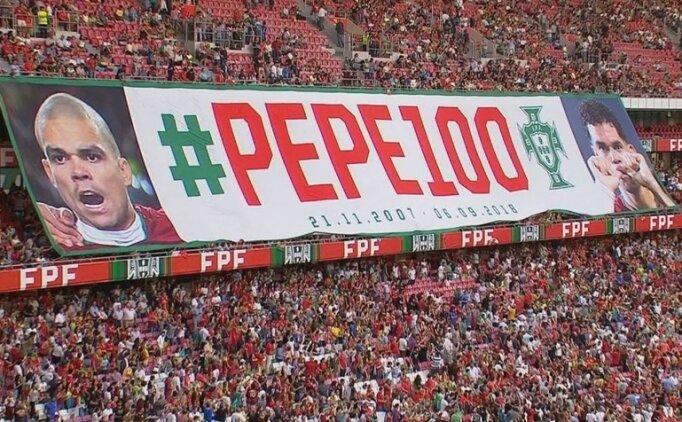 Pepe: ''Her şey için teşekkürler...''