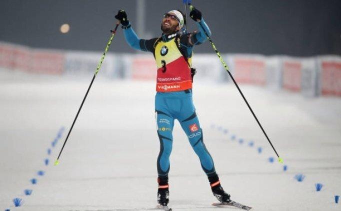 Martin Fourcade 4 altın madalya alan ilk Fransız oldu