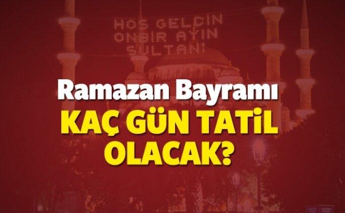 Bayram tatili kaç gün? Arefe günü tatil mi? İşte cevapları!
