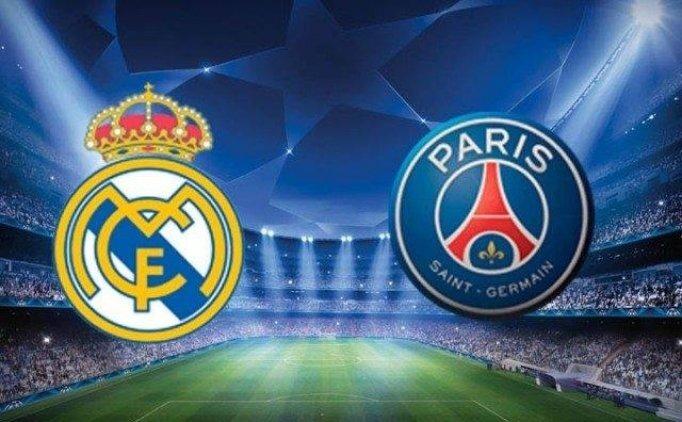 Real Madrid PSG maçını şifresiz veren kanallar hangileri? PSG Real Madrid hangi kanalda?