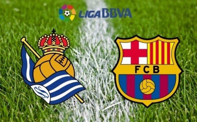 Real Sociedad Barcelona maçı canlı hangi kanalda saat kaçta?