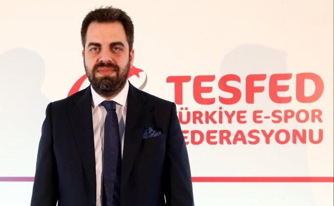 TESFED Başkanı Özdemir: 'Amacımız sağlıklı e-spor nesli yetiştirmek'