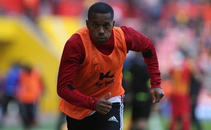 'Prekazi golü' atan Robinho; 'Sürekli frikik çalışıyorum'