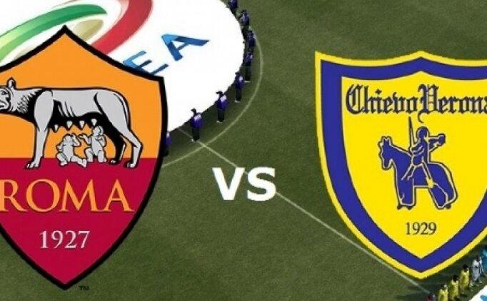 Roma Chievo maçı canlı hangi kanalda saat kaçta?