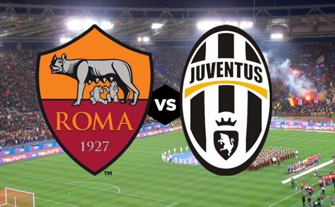 Roma Juventus maçı canlı hangi kanalda saat kaçta?
