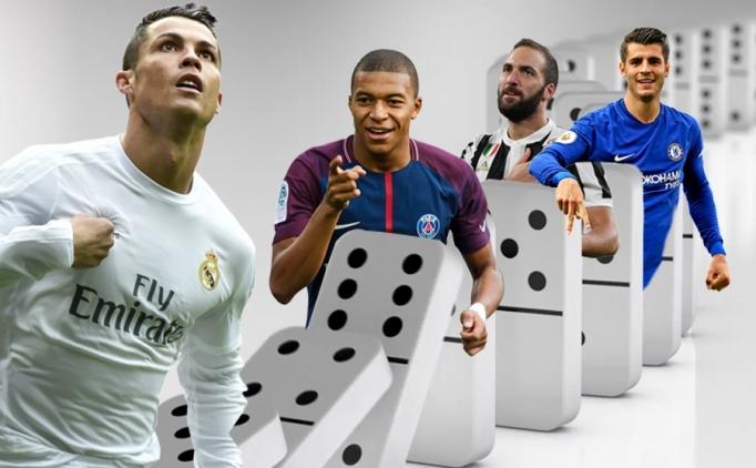Ronaldo'nun Juventus'a transferi domino etkisi yaratabilir