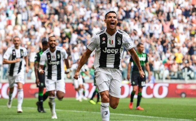 Cristiano Ronaldo, İtalya'da hesabı açtı!