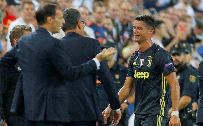 Cristiano Ronaldo, açılışta kızardı!