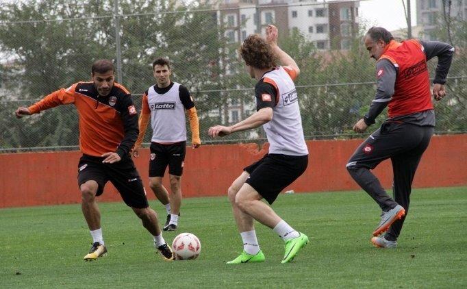 Adanaspor'da Rizespor maçı hazırlıkları başladı