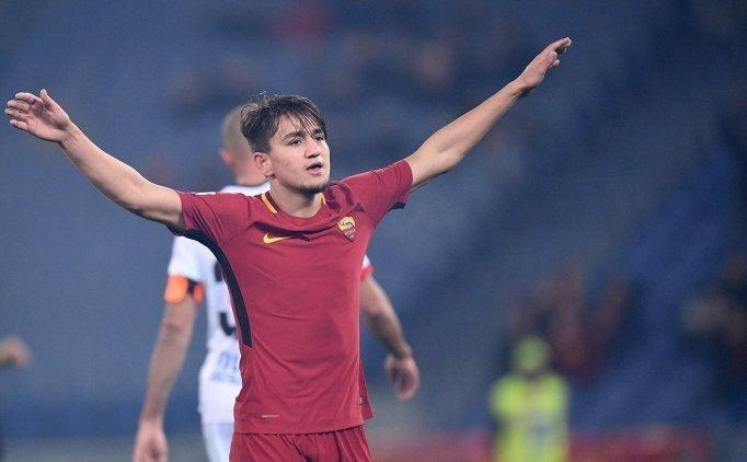Cengiz Ünder'in golleri sonrası Roma'dan açıklama