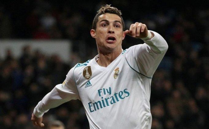 Hat-trick yapan Cristiano Ronaldo'dan taraftara tepki!
