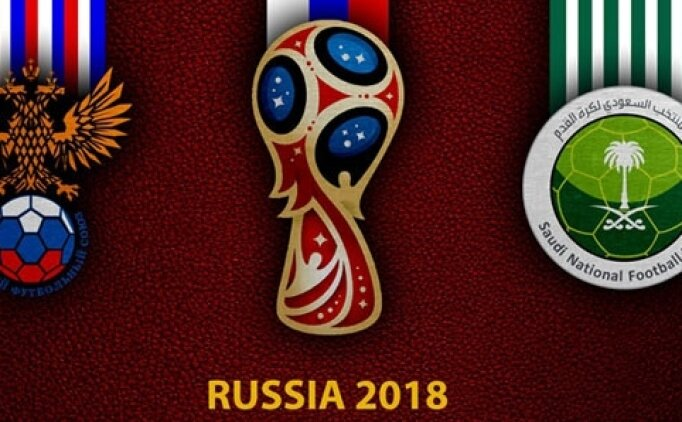 Rusya Suudi Arabistan maçı hangi kanalda saat kaçta? Dünya Kupası şifresiz izle
