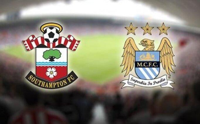Southampton Manchester City maçı canlı hangi kanalda saat kaçta?