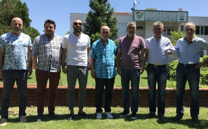Samet Aybaba'dan Bursa tesislerine ziyaret