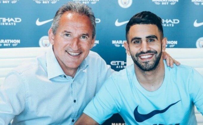 Manchester City, Mahrez'i transferi etti